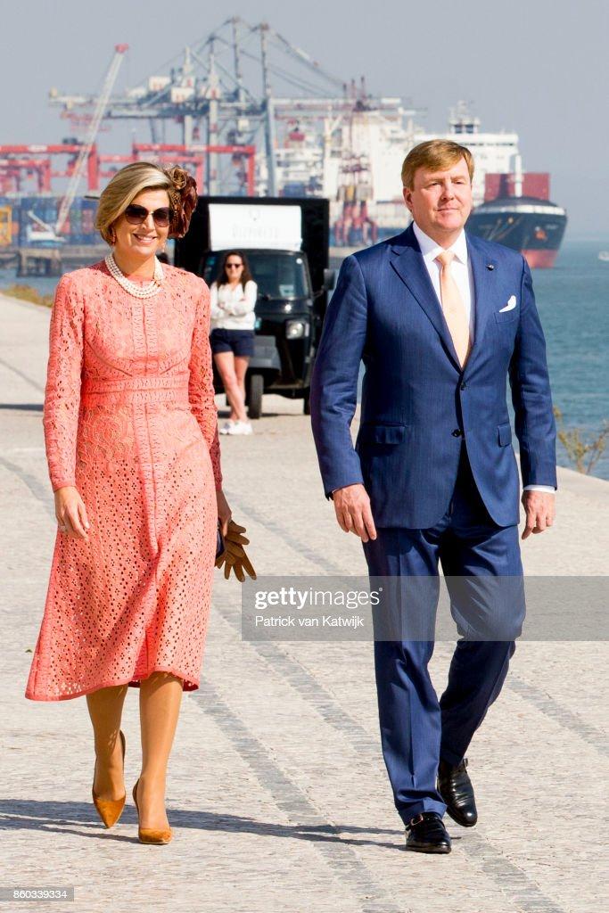 Day 2 - Dutch Royals Visit Portugal : Fotografía de noticias