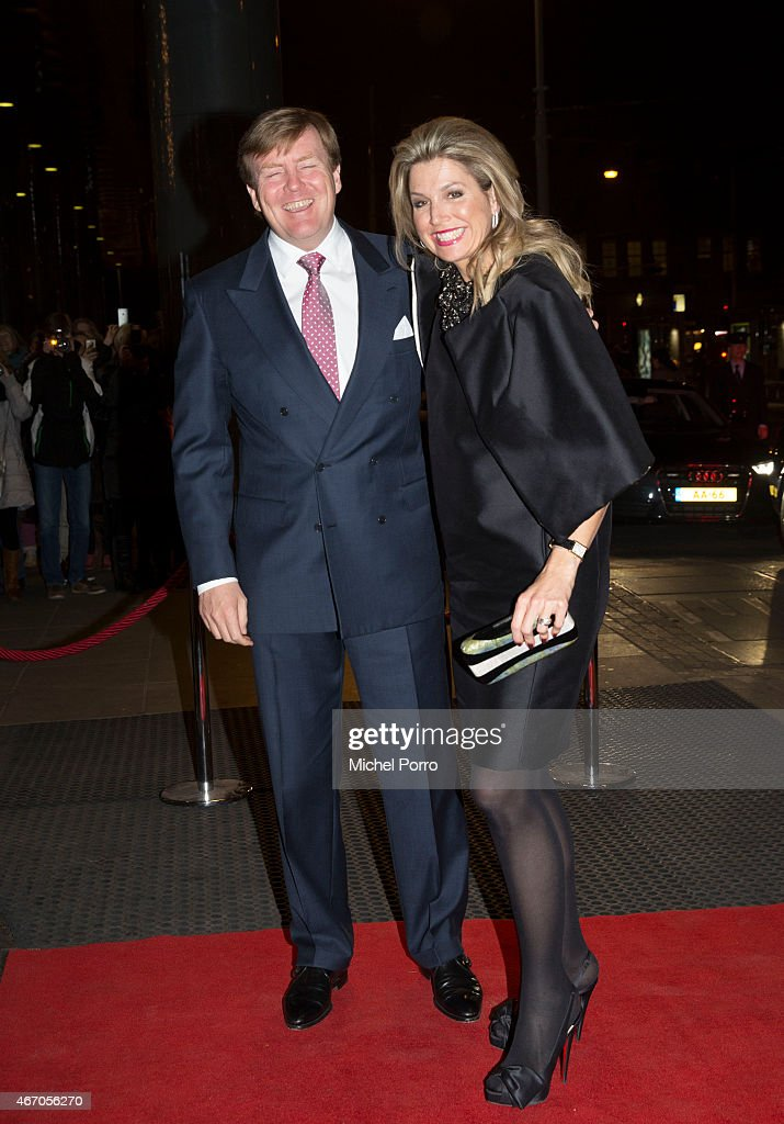 King Willem-Alexander and Queen Maxima Of The Netherlands Attend Final Royal Concertgebouw Orchestra Concert Mariss Jansons : News Photo