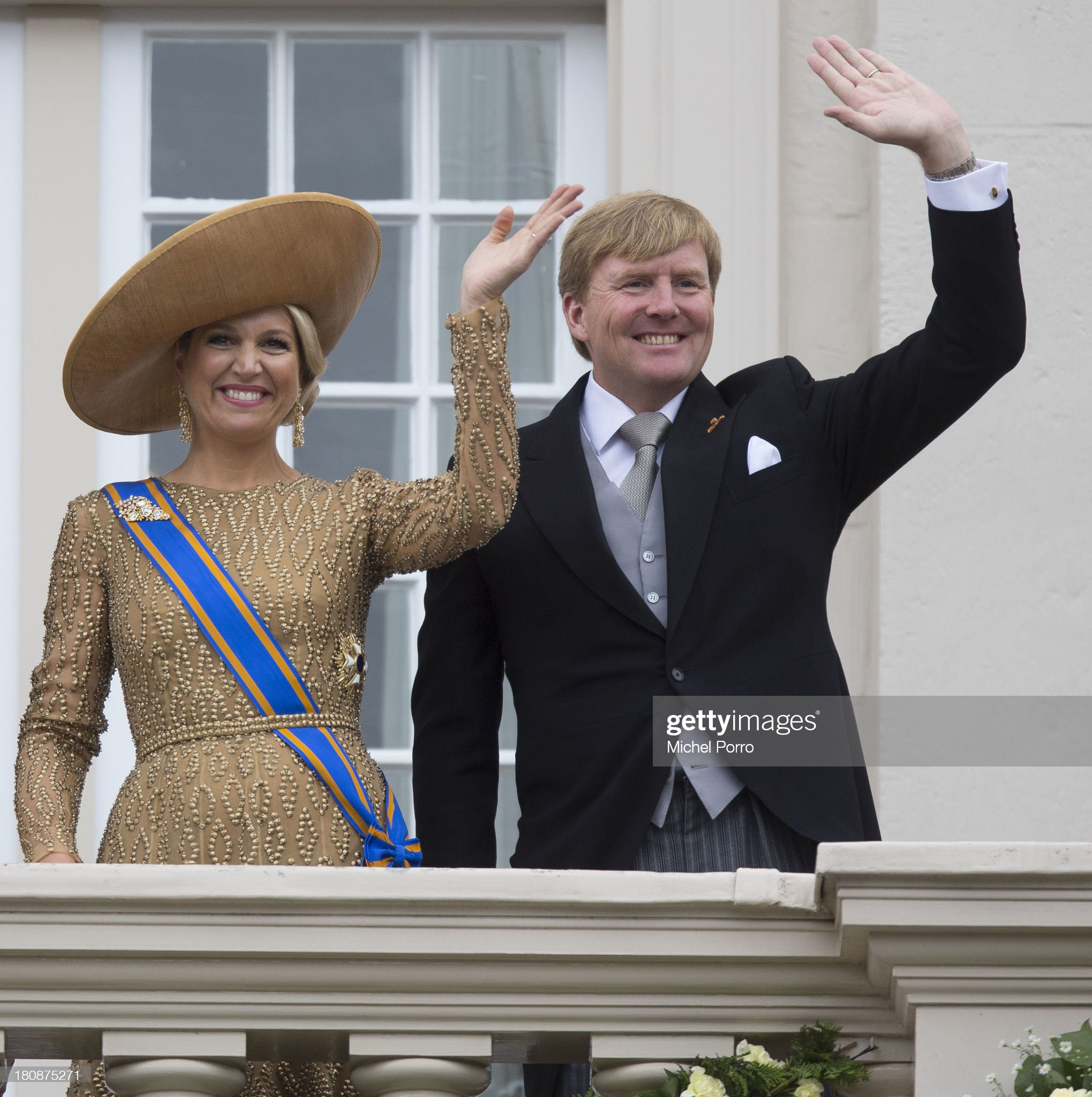 King Willem Alexander Of The Netherlands Attends Prinsjesdag (Prince's Day) : News Photo
