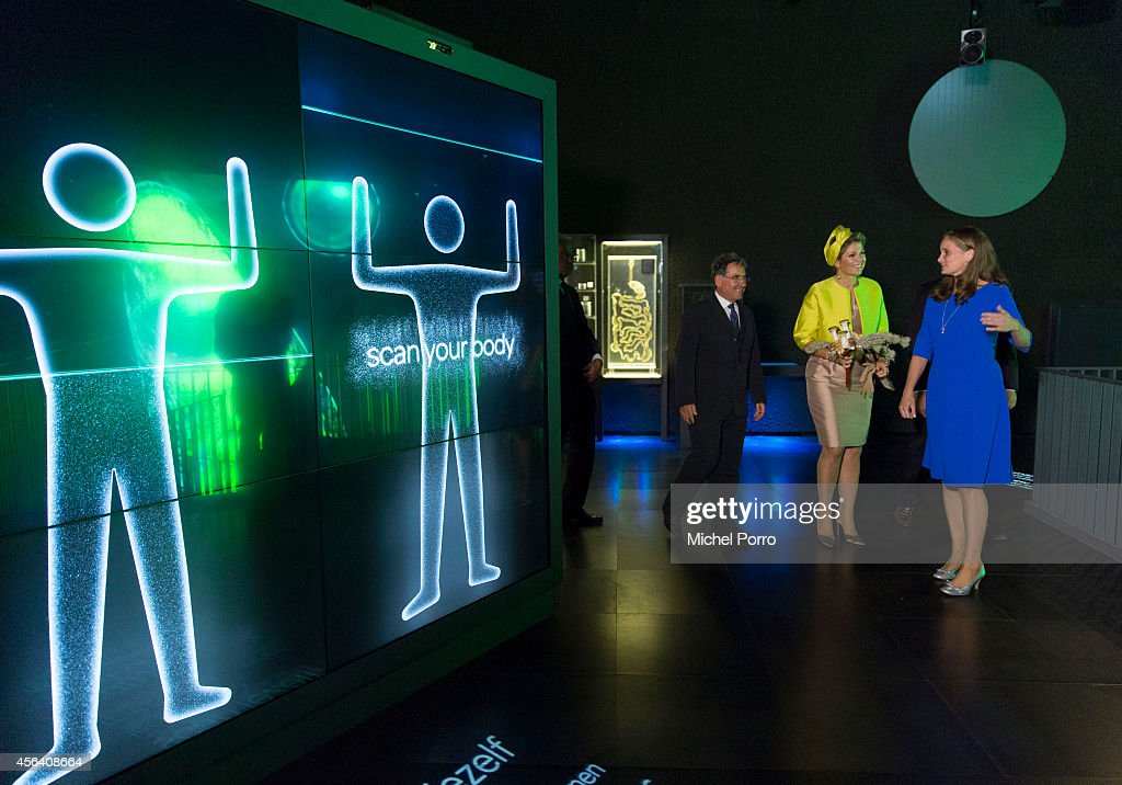 Queen Maxima Of The Netherlands Opens Micropia Museum : News Photo