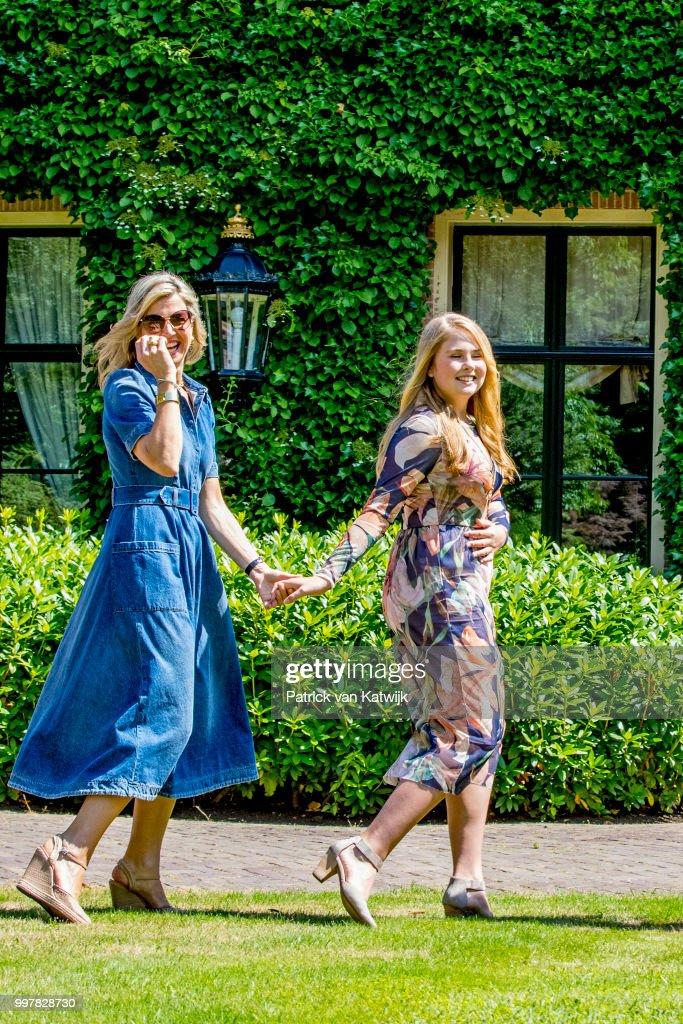 Dutch Royal Family Summer Photo Call In Wassenaar : News Photo