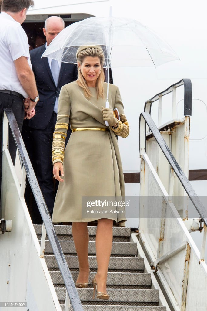 State Visit Of The King And Queen Of The Netherlands to Ireland Day One : News Photo