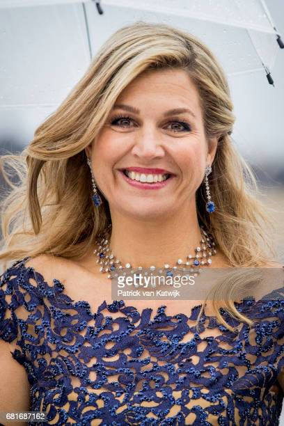 Queen Maxima of The Netherlands arrives at the Opera House on the ocassion of the celebration of King Harald and Queen Sonja of Norway 80th birthdays...