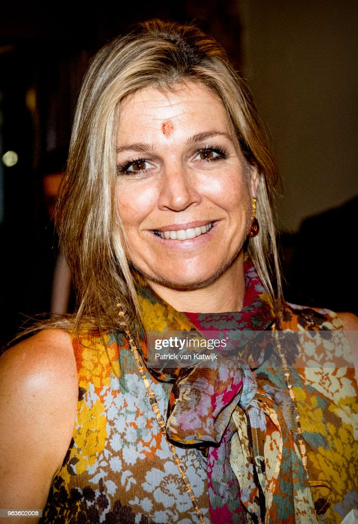 Queen Maxima Of The Netherlands Visits India - Day 2 : News Photo