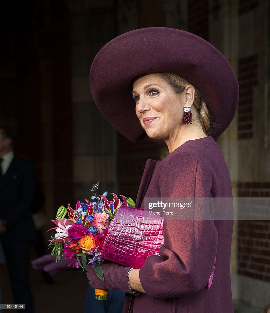 Queen Maxima Of The Netherlands Opens International Hands On! Conference : News Photo