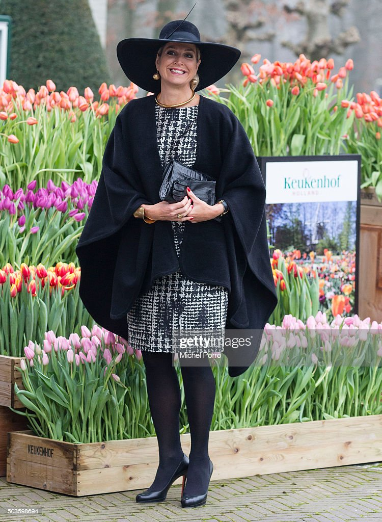 Queen Maxima Of The Netherlands Attends Agriculture Entrepreneur Prize Award Ceremony : News Photo