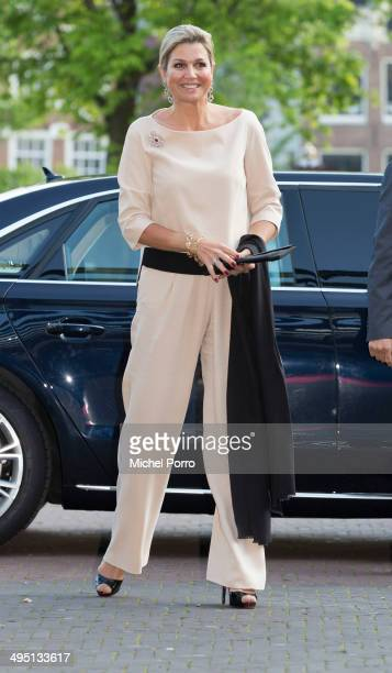 Queen Maxima of The Netherlands attend the opening of Holland Festival on June 1 2014 in Amsterdam Netherlands