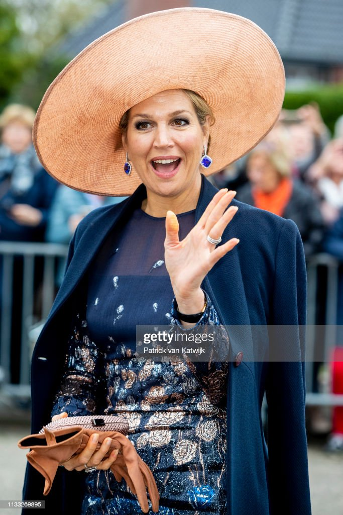 Queen Maxima Of The Netherlands Celebrates The 300th Anniversary Of Bavaria Brevery In Lieshout : Nieuwsfoto's