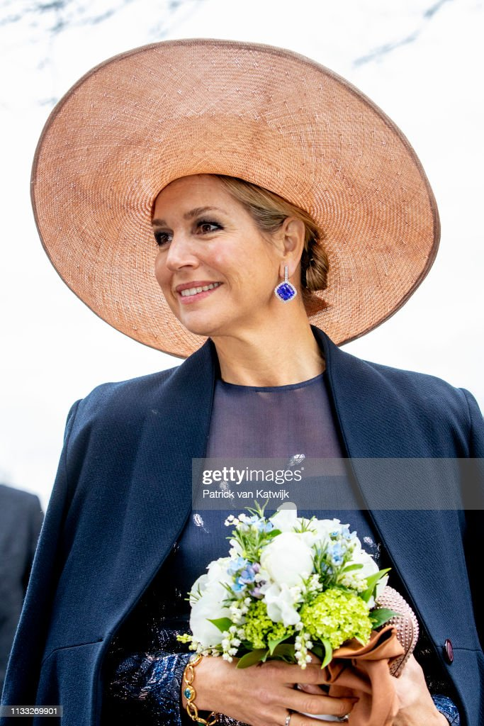 Queen Maxima Of The Netherlands Celebrates The 300th Anniversary Of Bavaria Brevery In Lieshout : News Photo