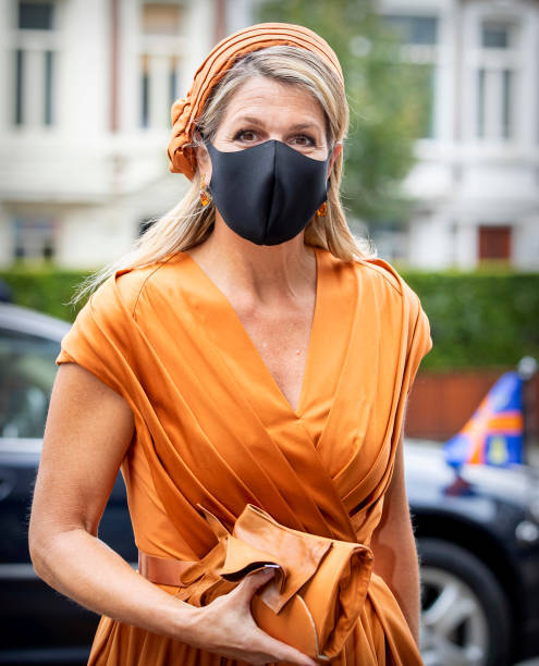 NLD: Queen Maxima Of The Netherlands Attends The Jubilee Social Economic Council In The Hague