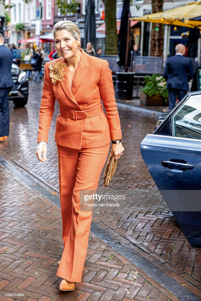 Queen Maxima Of The Netherlands Attends The Anniversary Music Educators Agreements In Utrecht : News Photo