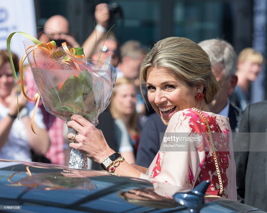 Queen Maxima Of The Netherlands Attends Children's Concert : Fotografía de noticias