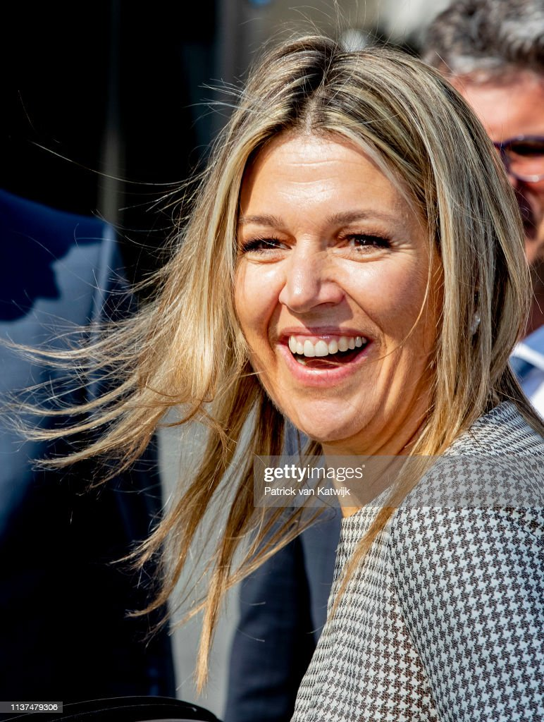 NLD: Queen Maxima Of The Netherlands Attends The Meeting at the Meeleefgezin Foundation In Doorn