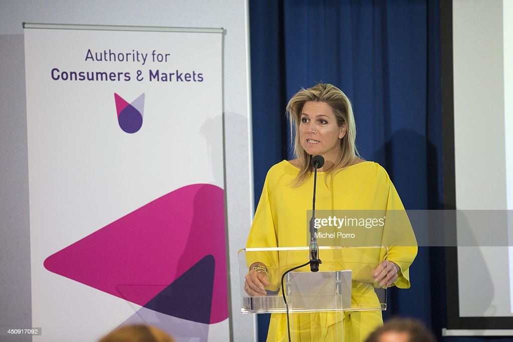 Queen Maxima Opens International Consumer Authority Seminar on Innovation : News Photo