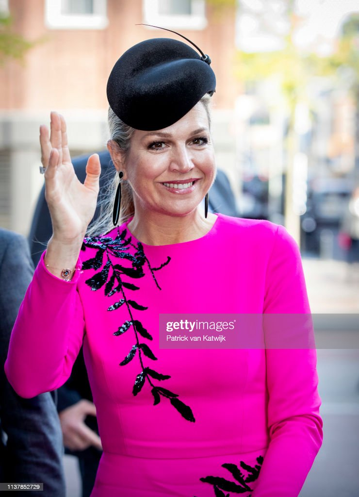 NLD: Queen Maxima Of The Netherlands Attends The Nibud Jubilee In Utrecht