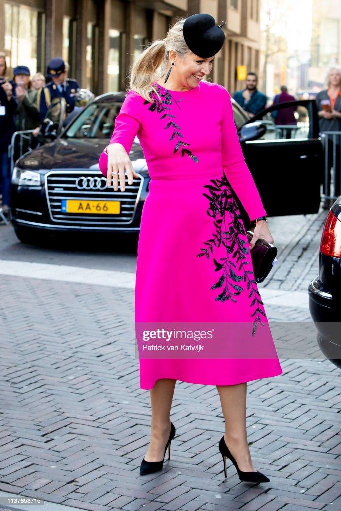 Queen Maxima Of The Netherlands Attends The Nibud Jubilee In Utrecht : Foto di attualità