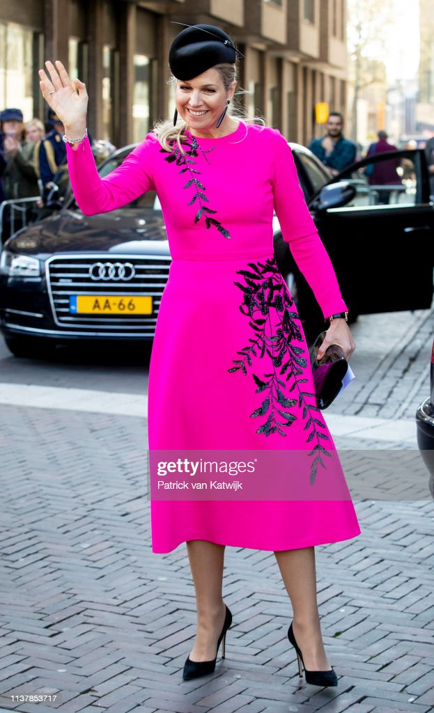 Queen Maxima Of The Netherlands Attends The Nibud Jubilee In Utrecht : News Photo