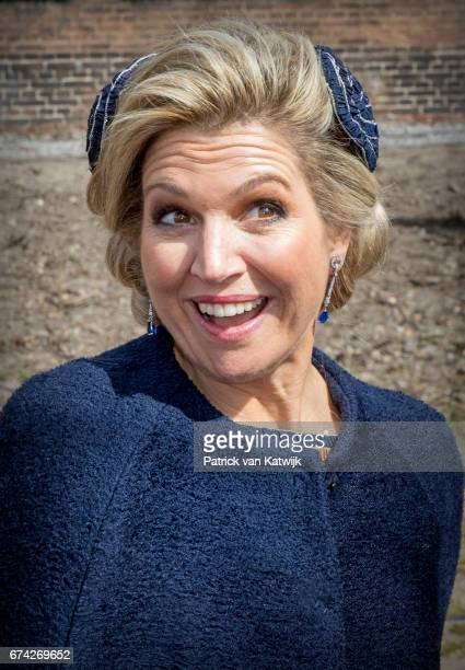 Queen Maxima of The Netherlands attends the King's 50th birthday during the Kingsday celebrations on April 27 2017 in Tilburg Netherlands