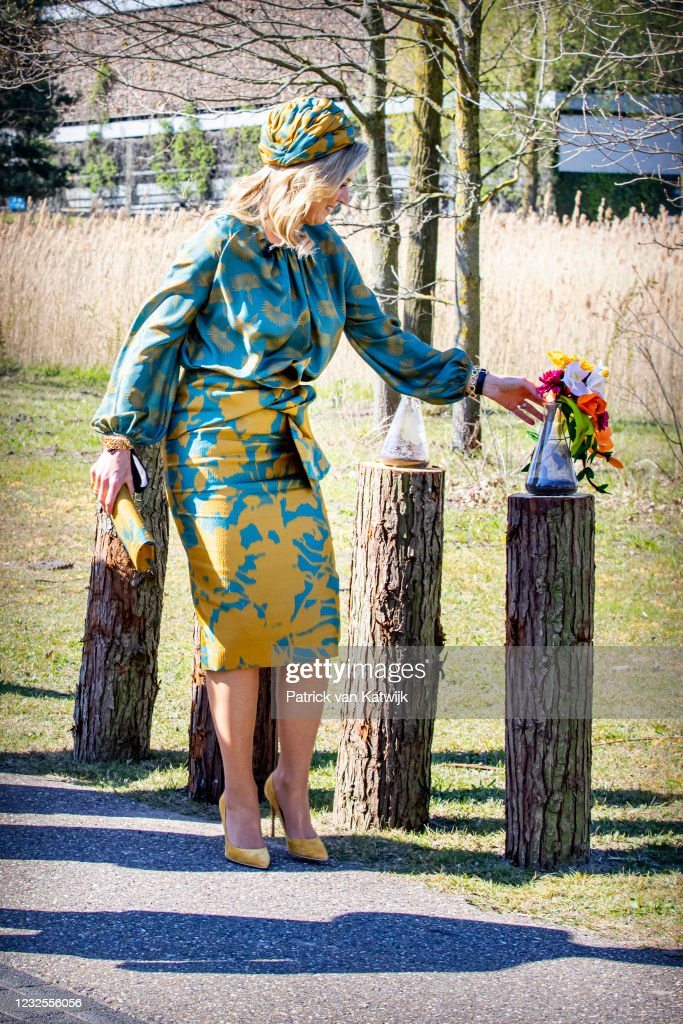 King Willem-Alexander Of The Netherlands And Queen Maxima Attend The Digital Kingsday Celebration In Eindhoven : News Photo