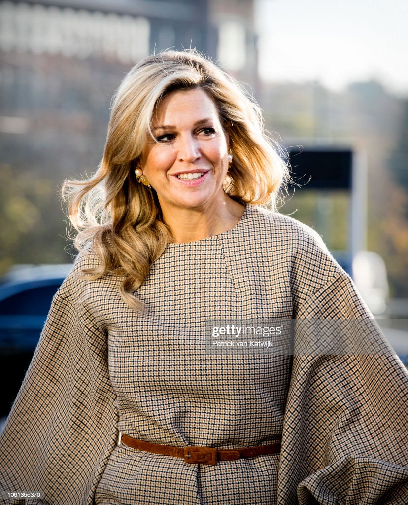Queen Maxima at launch debt lab : Nieuwsfoto's