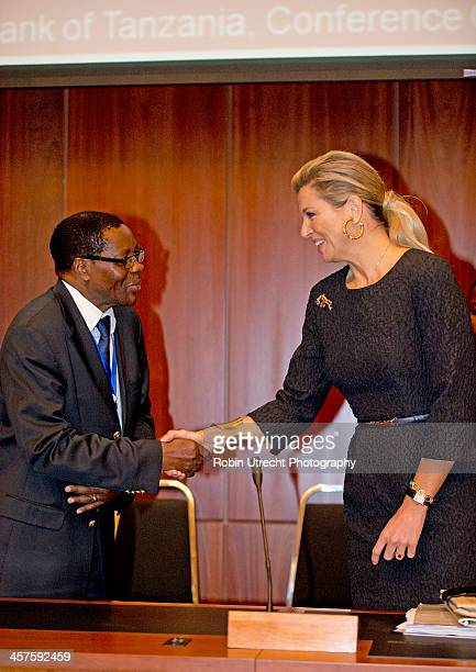 Queen Maxima of the Netherlands attends the Launch of the National Inclusive Finance Framework and UNSGSA signing of inauguration certificate by Bank...