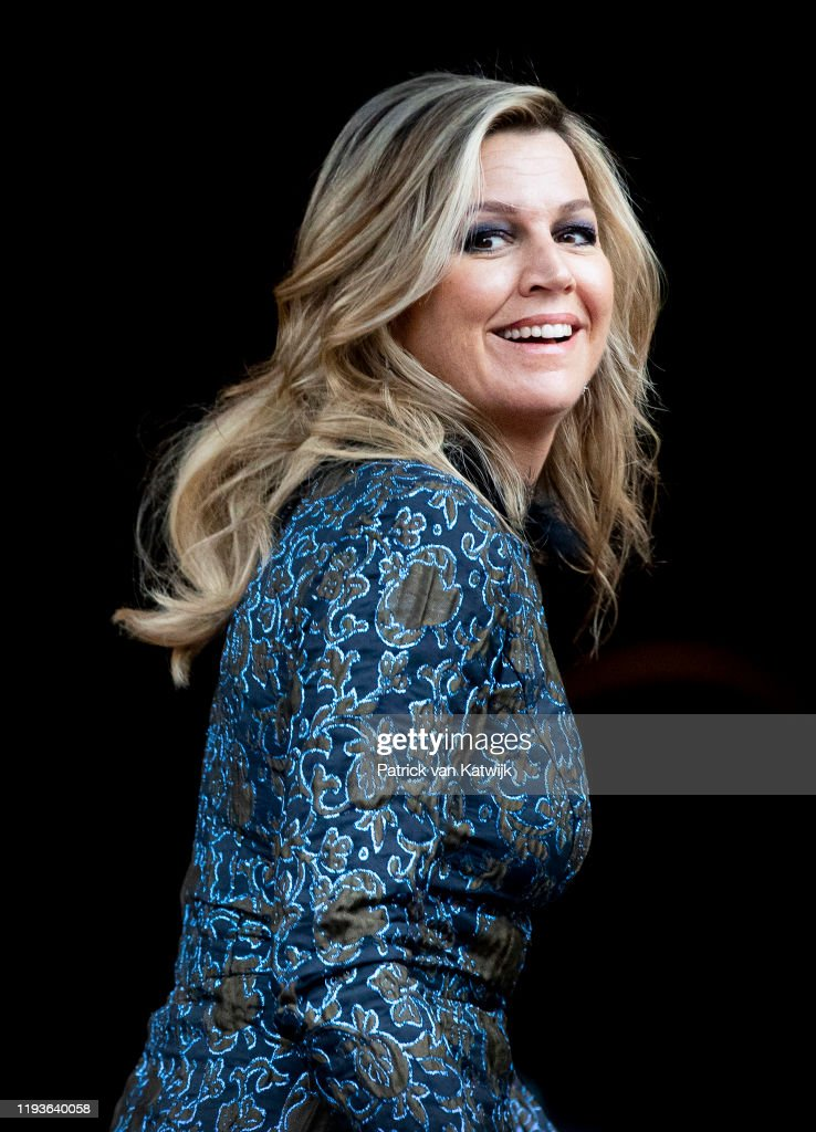 Dutch Royal Family Attends New Year Reception At Royal Palace In Amsterdam : News Photo