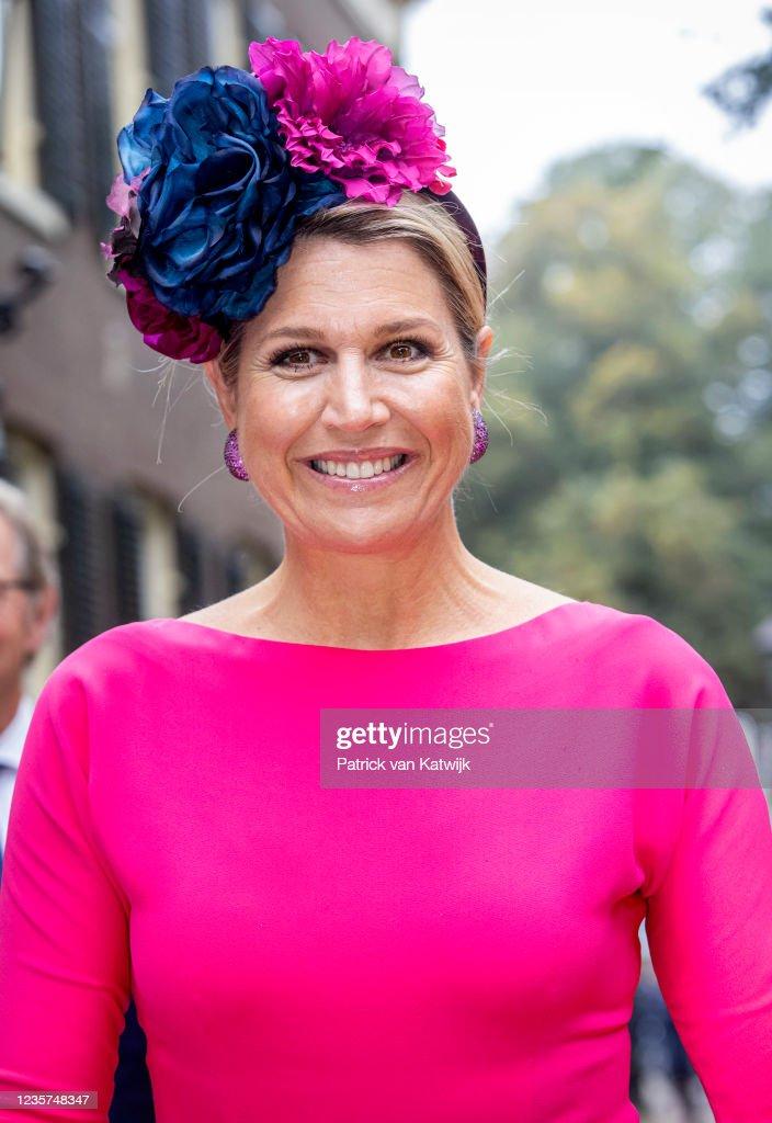 Queen Maxima Of The Netherlands Opens The Viva La Frida Exhibition In Assen : News Photo