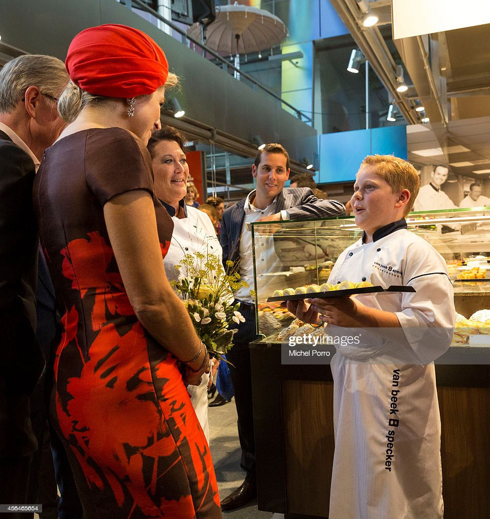 Queen Maxima Of The Netherlands Opens Markthal : News Photo