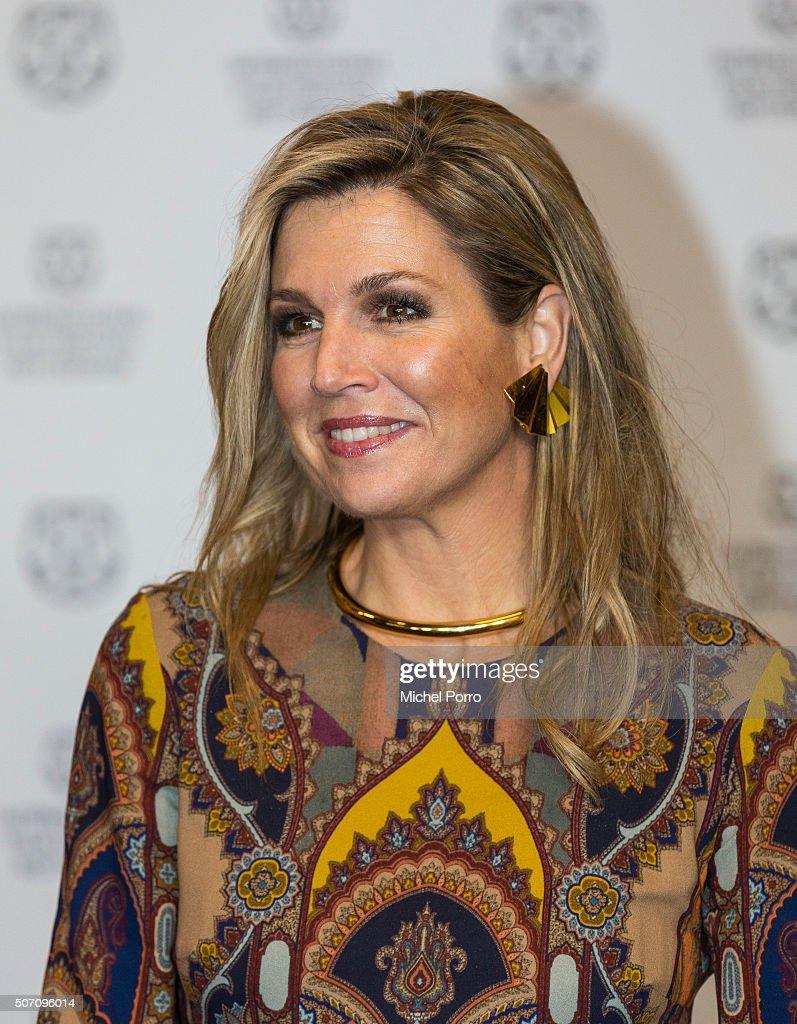 Queen Maxima Of The Netherlands Attends Opening Rotterdam International Film Festival : Nachrichtenfoto
