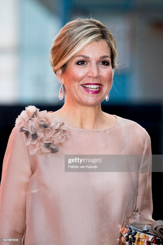 Queen Maxima At Musical Premiere 'The Color Purple'