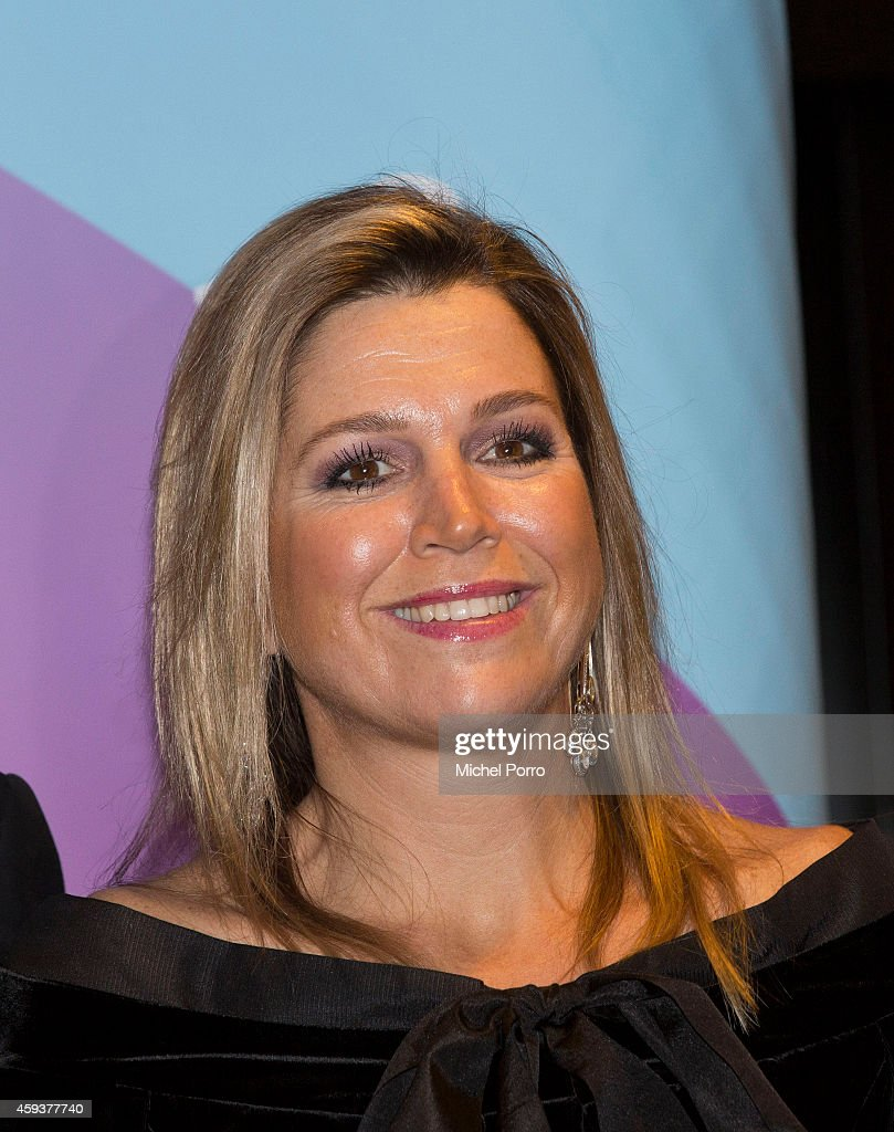 Queen Maxima of The Netherlands attends the Residentie Orkest (Orchestra) 110th Anniversary on November 21, 2014 in The Hague, The Netherlands.