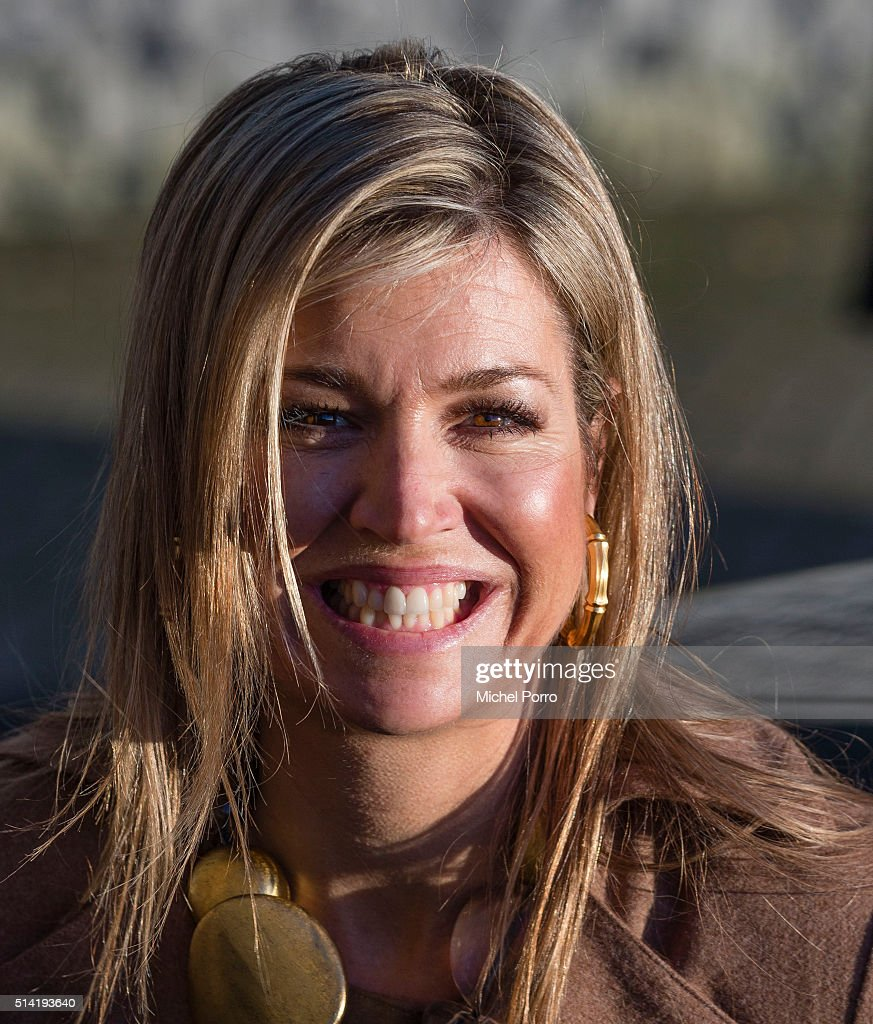 Queen Maxima Of The Netherlands Attends Women Inc. Health Care Seminar : News Photo