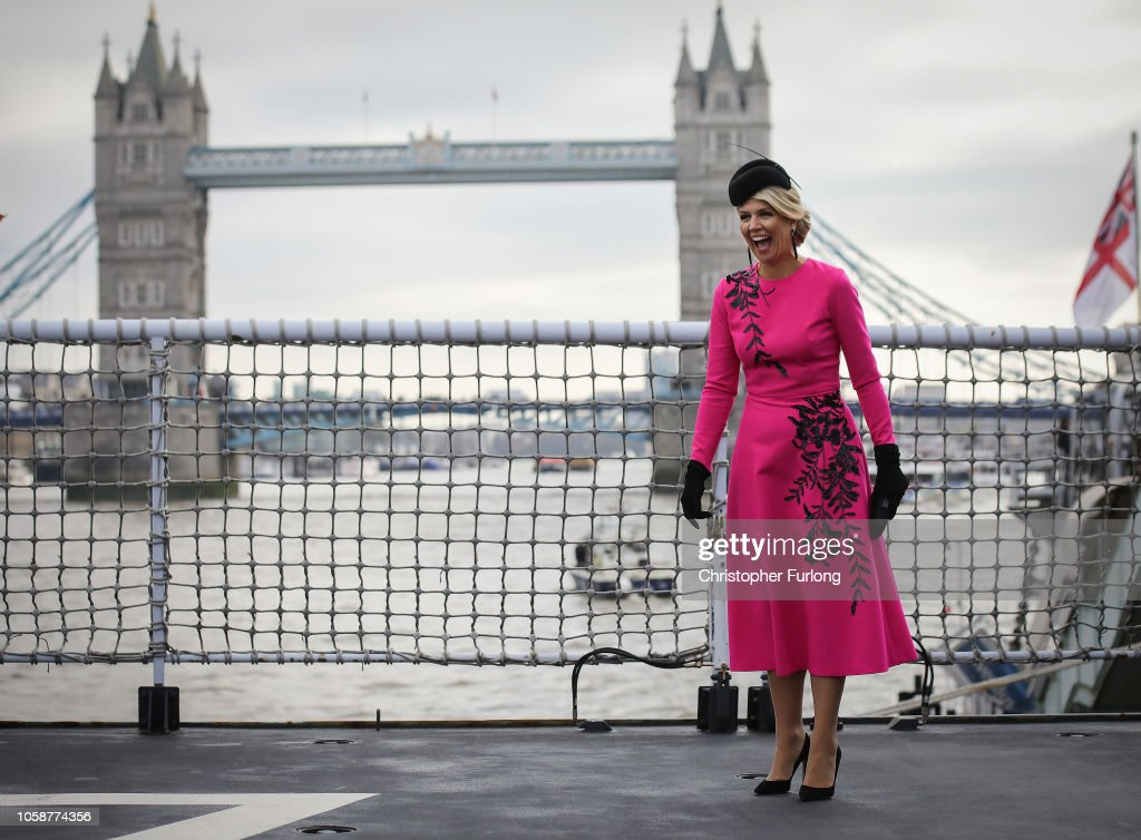 State Visit Of The King And Queen Of The Netherlands - Day Two : Fotografia de notícias