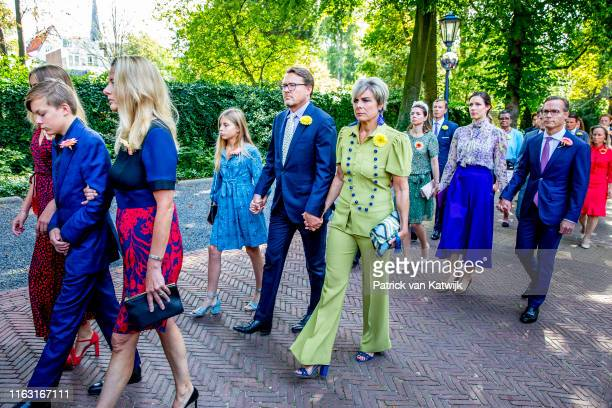 Queen Maxima of The Netherlands, Count Claus-Casimir of The Netherlands, Countess Eloise of The Netherlands, Princess Mabel of The Netherlands,...