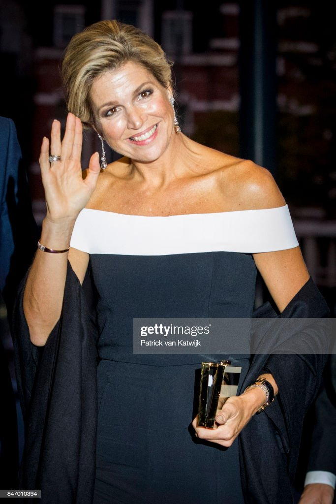 Queen Maxima Attends The Royal Concertgebouw Orchestra New Season Opening : Nieuwsfoto's