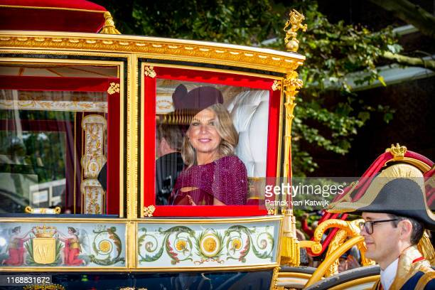 Queen Maxima of The Netherlands during Prinsjesdag the opening of the parliamentary year on September 17 2019 in The Hague Netherlands