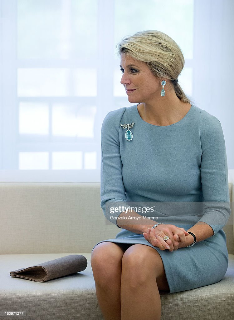 King Willem-Alexander and Queen Maxima of the Netherlands Meets President Mariano Rajoy : News Photo