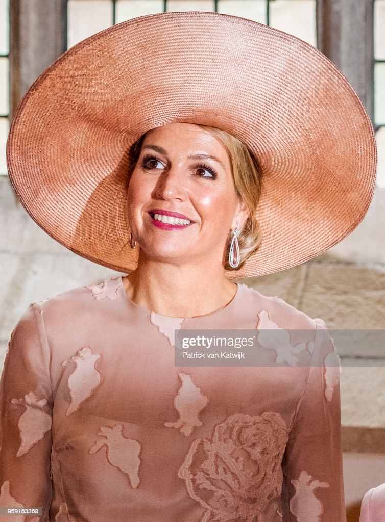 King Willem-Alexander Of The Netherlands And Queen Maxima Attend The Four Freedom Awards in Middelburg