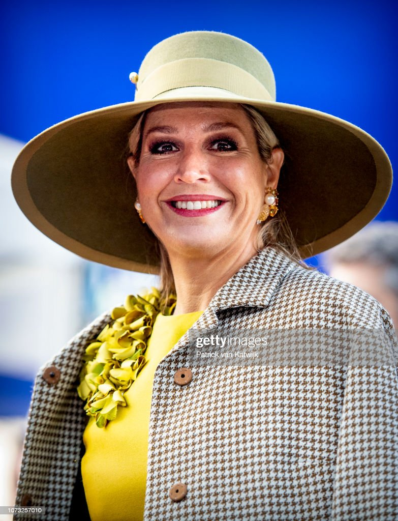 Queen Maxima naming ceremony of VOX Amalia : News Photo