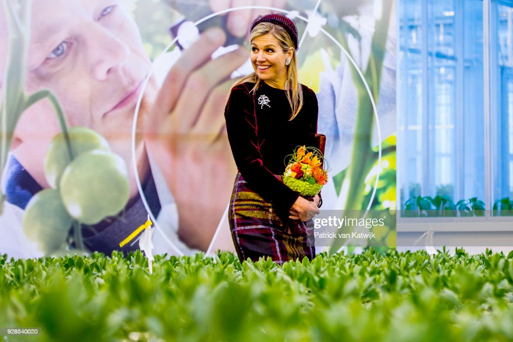 Queen Maxima Opens Horti Center In Naaldwijk