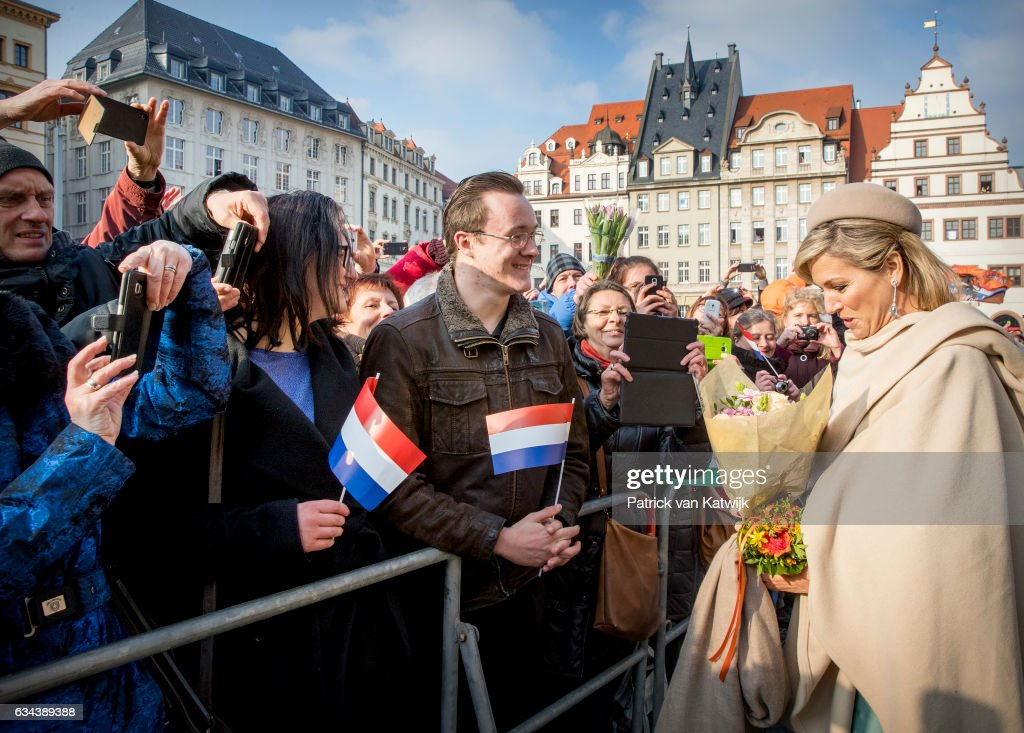 ing Willem-Alexander and Queen Maxima Visit Germany - Day 3 : News Photo