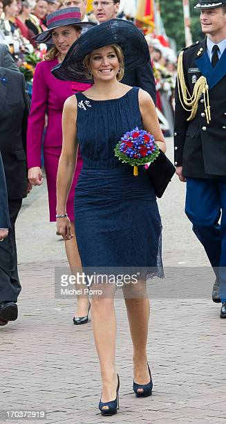 Queen Maxima of The Netherlands is seen during an official visit on June 12 2013 in Venlo Netherlands