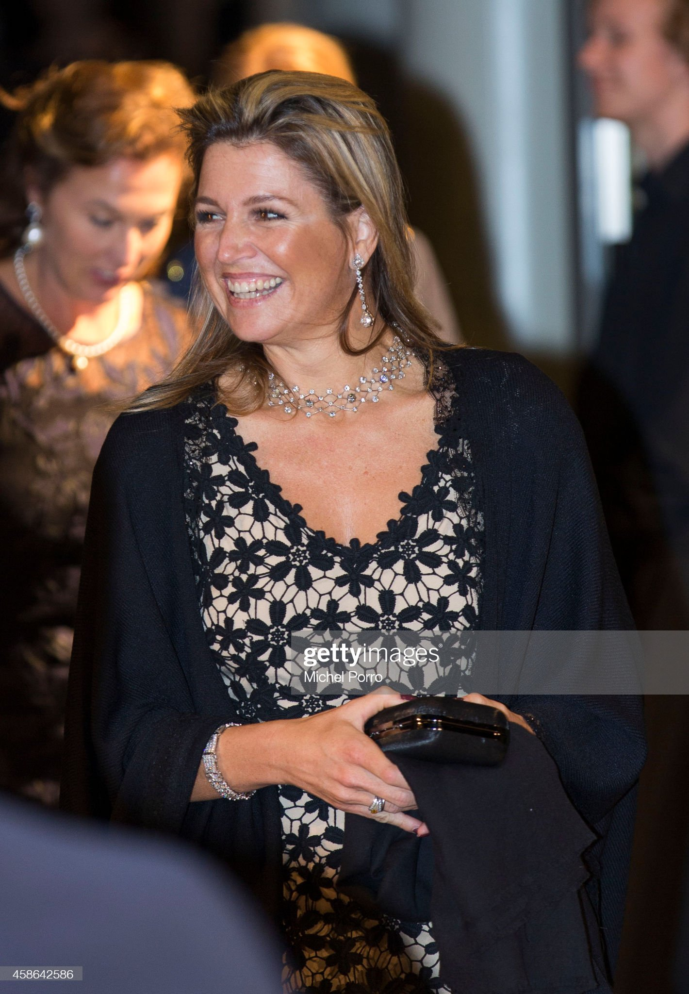 Queen Maxima Of The Netherlands Attends Franz Liszt Piano Competition : News Photo