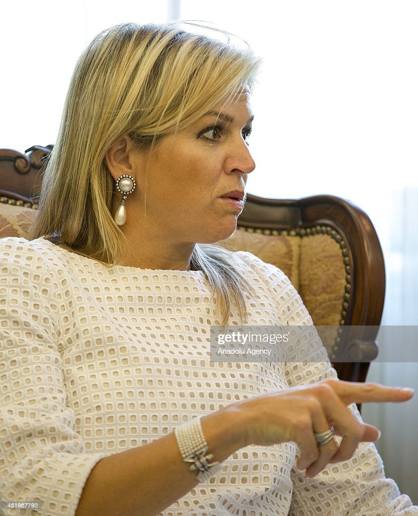 Queen Maxima of the Netherlands in Turkey : News Photo