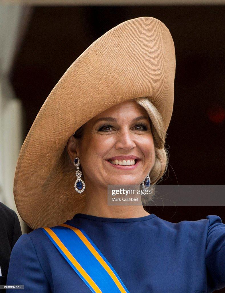 King Willem Alexander and Queen Maxima Of The Netherlands Attend Budget Day : Fotografía de noticias