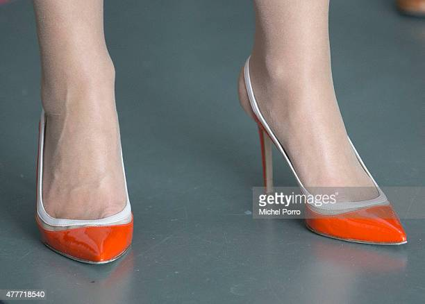 Queen Maxima of The Netherlands opens the Design Derby Netherlands Belgium on June 19 2015 in Rotterdam Netherlands