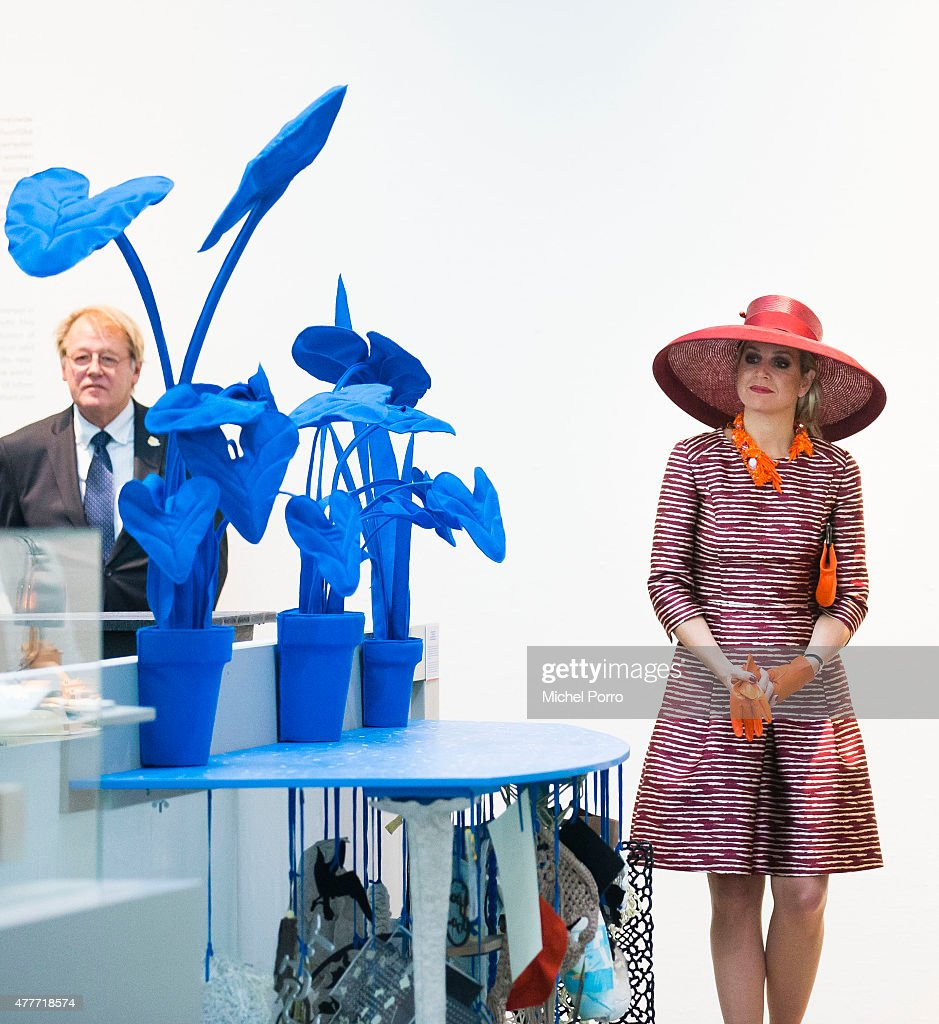 Queen Maxima Of The Netherlands Opens Design Derby Netherlands - Belgium : News Photo