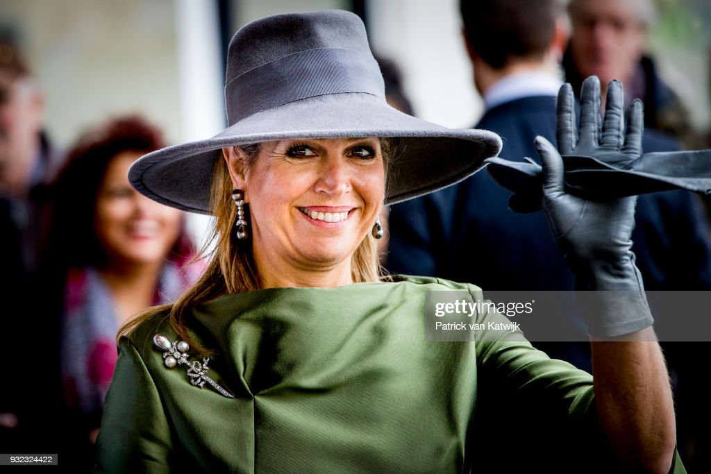 Queen maxima Opens Endometriose Center In Bronovo Hospital In The Hague