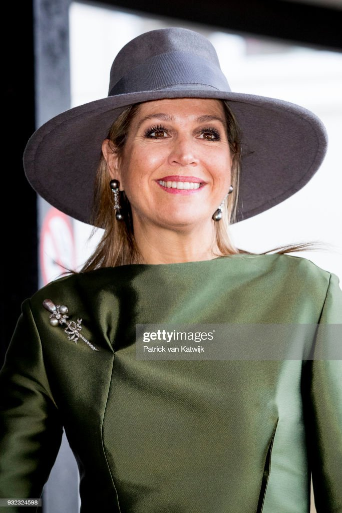 Queen maxima Opens Endometriose Center In Bronovo Hospital In The Hague : Nieuwsfoto's