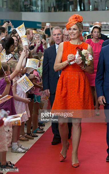 Queen Maxima of The Netherlands opens the Juliana Kinderziekenhuis on June 12 2015 in The Hague Netherlands